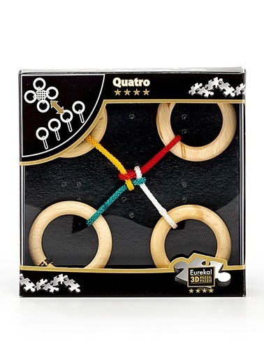 Eureka  Entertainig Puzzle Quatro-Eureka